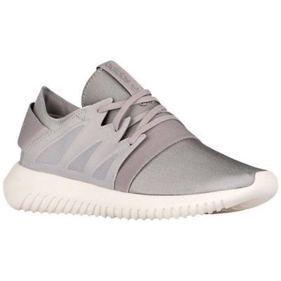 meet 20d9d ad874 adidas Shoes - Adidas silver sneakers - Size 10